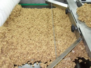 musli production line